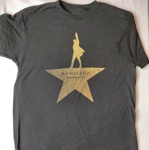 Hamilton the musical licensed t-shirt. SZ M.
